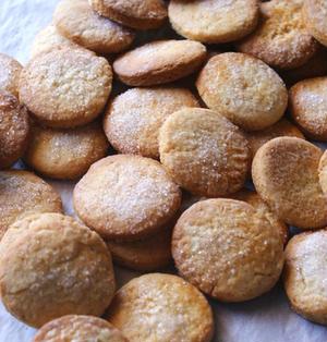 オリーブオイルとオレンジのクッキー