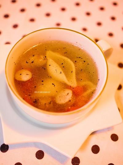 白だしでスープ七変化、その1
