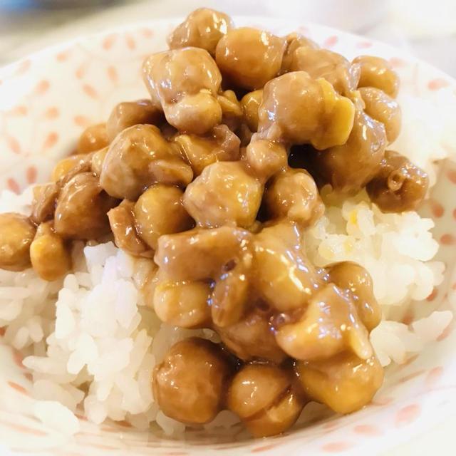 ひよこ豆で作る☆手作り納豆