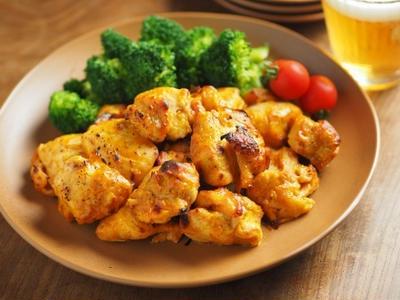 鶏むね肉のタンドリーチキン風、作り方動画 by 筋肉料理人さん