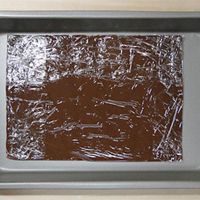 米粉のミルクチョコレートクリーム折り込みシート