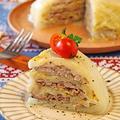 炊飯器で簡単!餃子の皮でもっちり白菜豚バラドーム by ぱおさん