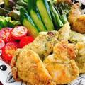 ささみの青のり焼き(動画レシピ)/Grilled Chicken Breast strips With Nori. by みすずさん