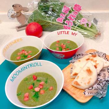 ♪(*^^) 冷製スープです(^^*)♪