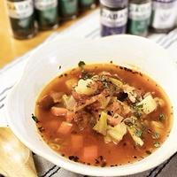 ハーブたっぷり!野菜たっぷり!圧力鍋で簡単あったかスープ♪【スパイス大使】