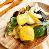 夏野菜の粒マスタードソテー