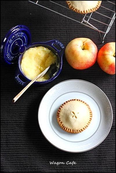 秋のスイーツ♪ アップルバターと、アップルパイ クッキー
