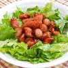 スパイシーソーセージのグリーンサラダ