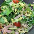 さっぱり美味しい、春雨サラダ