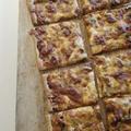 レシピ☆パイシートで簡単、飴色玉ねぎとベーコンのチーズパイ
