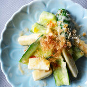 野菜との相性ばっちり!「梅おかか」でさっぱり副菜を作ろう♪