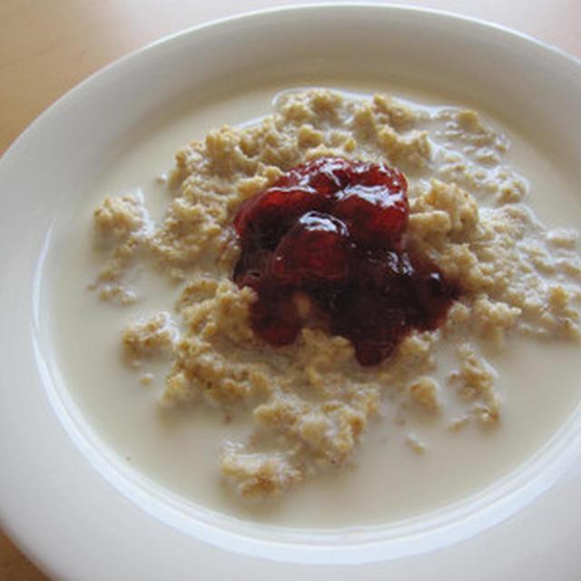 スウェーデンの朝ごはん オーツ麦グロート