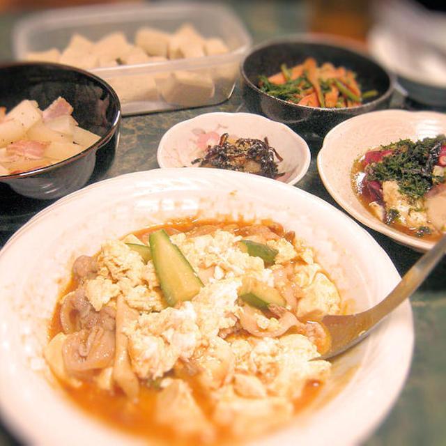 8月13日はお盆バージョン、有り合わせ(*^_^*)レシピはオススメ長芋料理(過去記事から)です