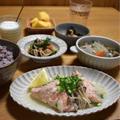【生鮭の塩麹蒸し焼き】#ヘルシー&ダイエット#フライパンひとつ#素材の旨味を堪能#魚料理 …晩ごはん/朝ごはん/お弁当