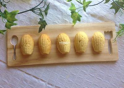 バター不要♪生おから de ノンオイルマドレーヌ