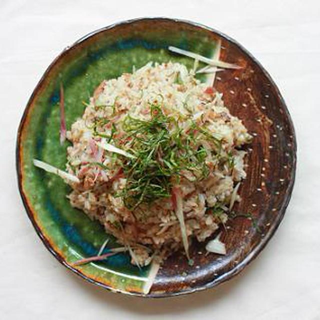 いわしの缶詰で作る♪夏の混ぜご飯と断水時の調理や食事のこと。