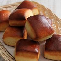 コンデンスミルクのパン、リベンジ成功か~♪