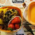 時間が無い時は、シリアルやレンジも使って簡単3食調理^^