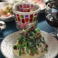 「ハンバーグ ほうれんそうクリームソース(クリスマスハンバーグ)」「ワンプレートの夕ご飯」「のびるとろ~りチーズフランス」