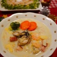 デキストリンde牡蠣と白菜のクリーム煮