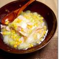 バターコーンあんかけ豆腐 と 白ダシコンテスト優秀賞♪