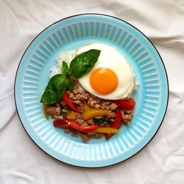 タイ料理 ガパオライス