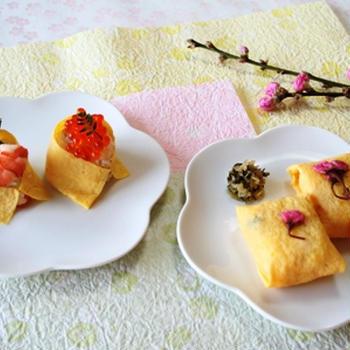 春色茶きん寿司
