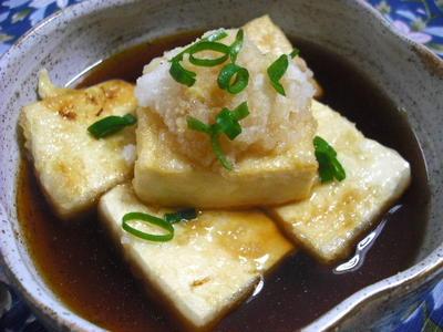 焼きだし豆腐