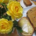 HBで 黒蜜レーズン食パン 1斤・1・5斤レシピ