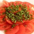 リコピンたっぷり!真っ赤なトマトサラダ