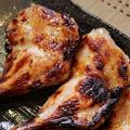 コーニッシュヘンのモモ肉の塩麹焼き
