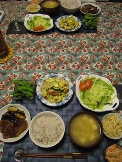 今日のお夕飯。