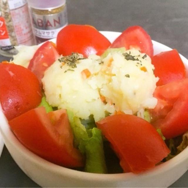 ガーリック&オニオンでポテトサラダ