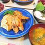我が家のイチオシ【温玉とろろ納豆&旬食材の味噌汁】de夕食 & 食欲の秋!食べ過ぎ注意!?