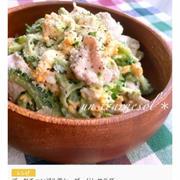 【ご報告】ゴーヤチャンプル風シーザードレサラダがくらしのアンテナで紹介されました♪レシピあり