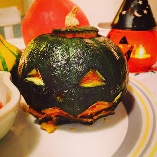カボチャ大王のオーブン焼き☆ハロウィン