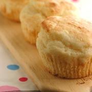 卵バター不使用☆お豆腐マフィン