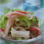 寿司酢で簡単♪コールスロー〜マスタード風味で〜