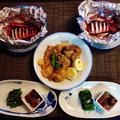 お肉と魚貝なんですが地味やわ☆いかぽっぽ塩麹ホイル焼き♪☆♪☆♪