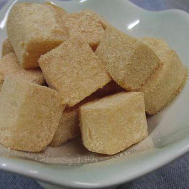 砂糖の代わりにスキムミルクで♪ コロコロ大根のきなこミルクあえ
