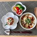 白麻婆豆腐でお昼ごはん♪