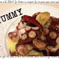 スペイン料理♪超簡単タコのガーリックオイル炒めだょ( ゚∀ ゚)