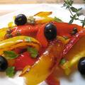 焼きパプリカのタパス風サラダ