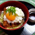 SK(醤油カツ丼)