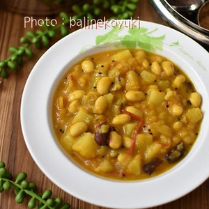 肉なしでも絶品!豆が主役のスパイスカレーレシピ