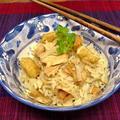 ツナ缶とお醤油で簡単炊き込みご飯