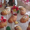 ロリポップパン(クリスマスブーツ)♪