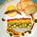 トマト水の夏野菜テリーヌ ~ ちょっと気取った野菜の食べ方にいかが? by mayumiたんさん