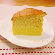 ふわふわスフレチーズケーキ☆糖質オフ
