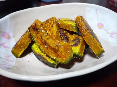 ペッパー香る南瓜のグリル